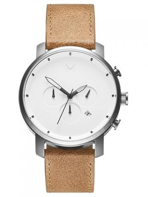 MVMT Chrono White Caramel Watch